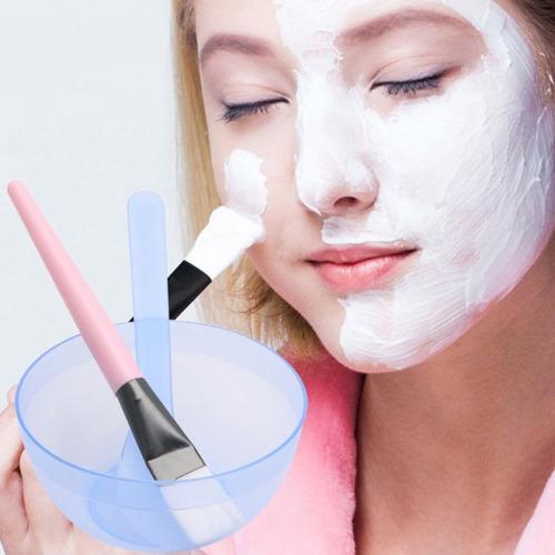maquillaje belleza diy facial mascarilla bowl cepillo