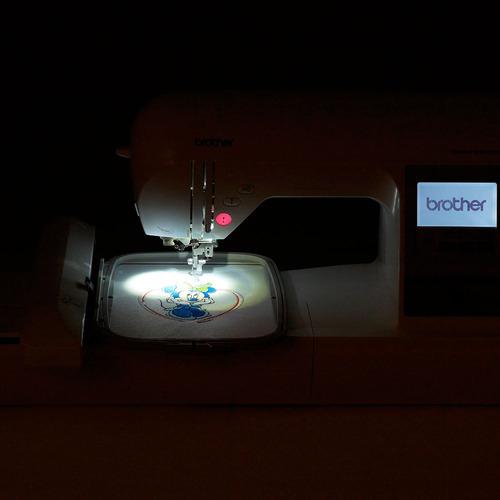máquina de bordado brother pe780d geant