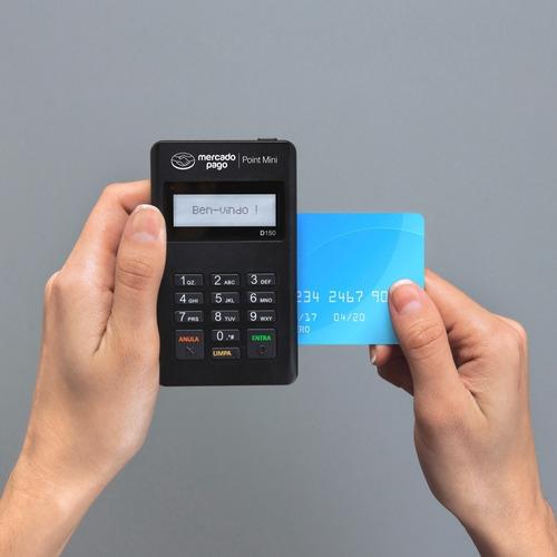 máquina de cartão point mini do mercado pago