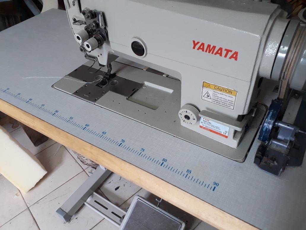 Maquina De Coser Industrial Doble Aguja. Yamata - U$S 950