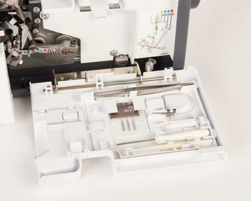 máquina de coser overlock 4 hilos calidad bernina!