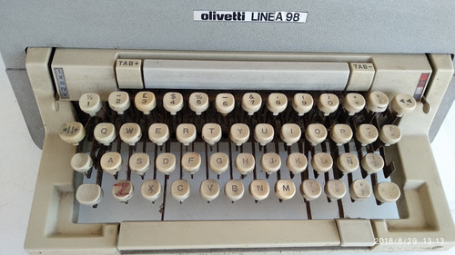 máquina de escribir olivetti linea 98 - envio gratis