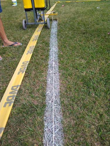 maquina pinta lineas de canchas deportivas, marca lineas