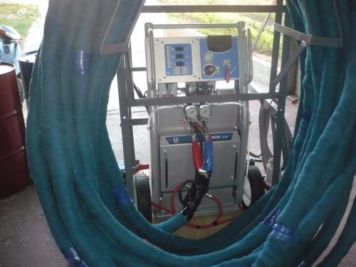 maquinas poliuretano y poliureas