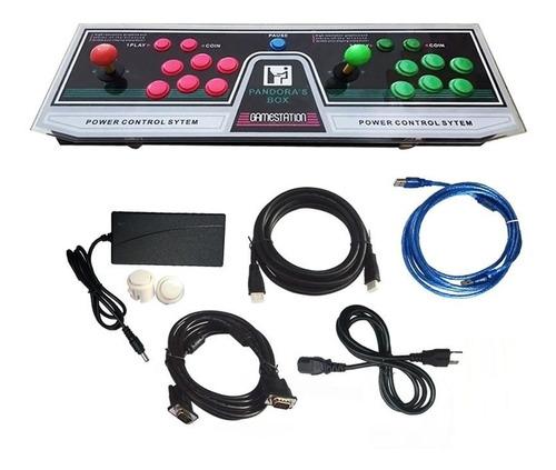maquinita arcade joystick pandora 9s 1500 juegos retro gmst