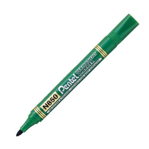 marcador permanente pentel n850 - verde - mosca
