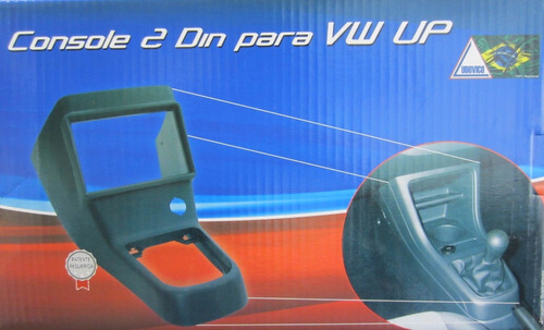 marco adaptador radio vw up! negro 1 y 2 din