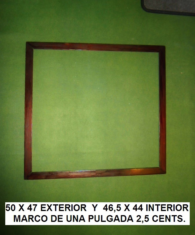 Marco Cuadro Sin Vidrio Buen Tamaño 50 X 47 - $ 149,00 en Mercado Libre