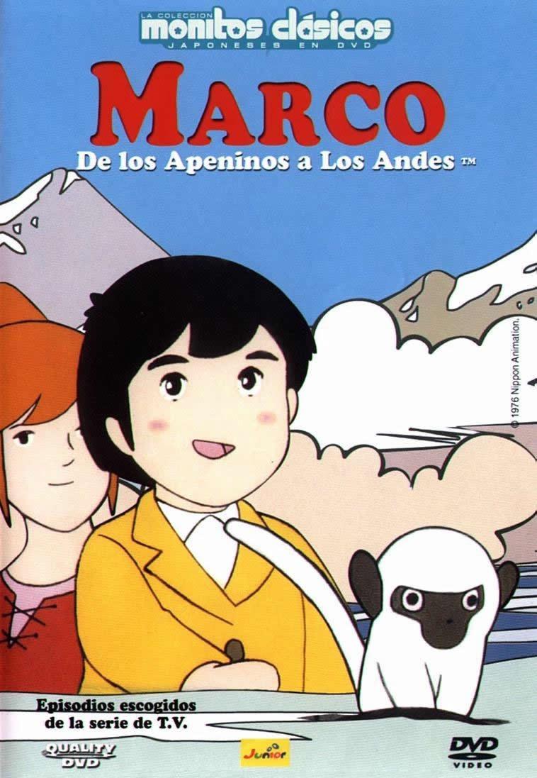 Marco De Los Apeninos A Los Andes 52 Capítulos. Completa - $ 400,00 ...