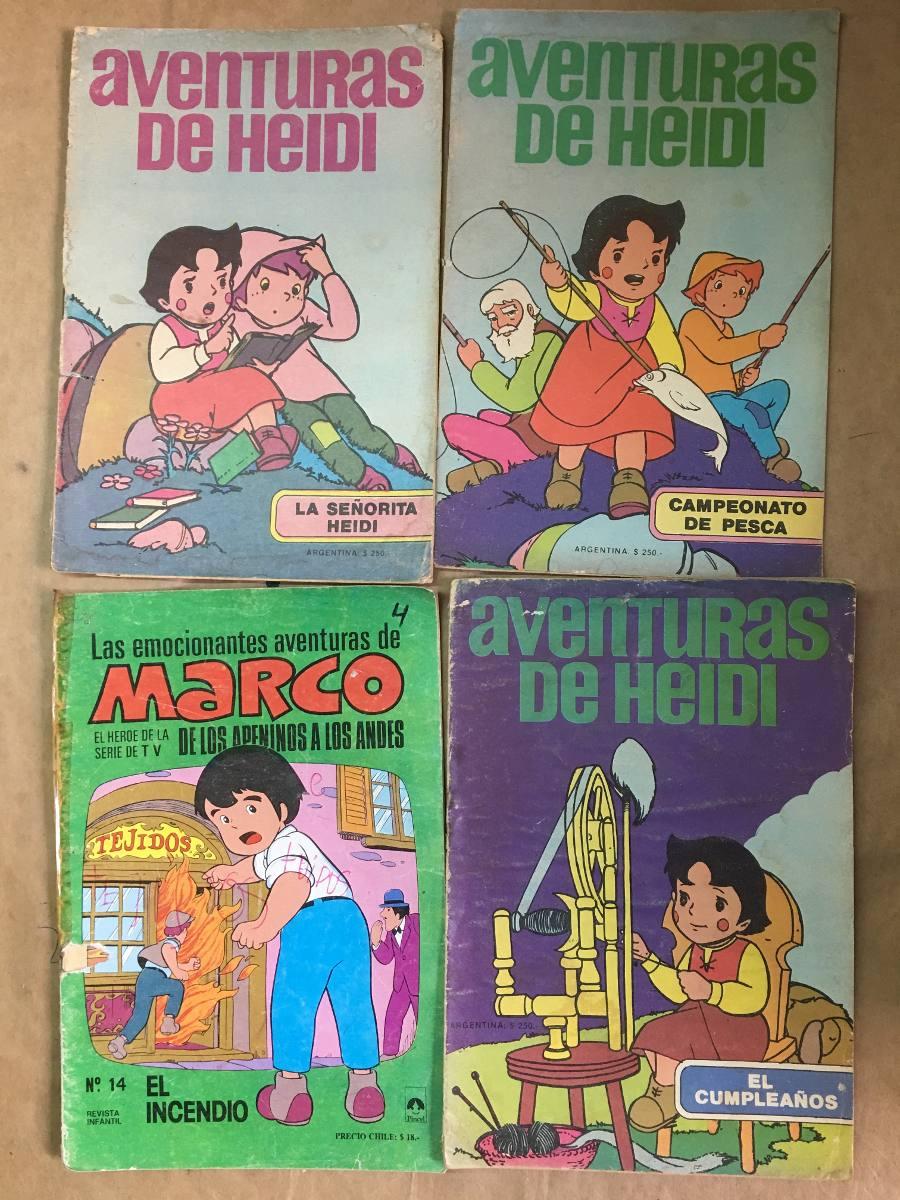 Marco Heidi, Revistas Y Libritos Para Colorear, Fotos, C35 - $ 200 ...
