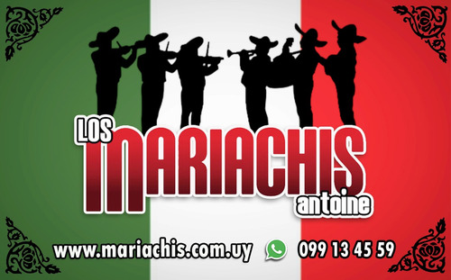 mariachis antoine la mejor serenata