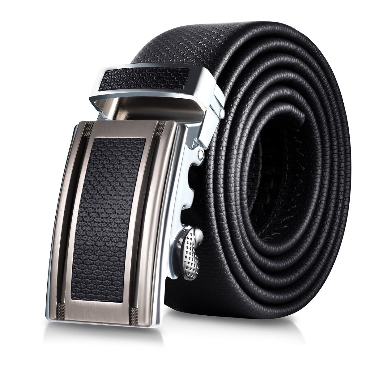 Marino Cinturón De Cuero Para Hombre b12970cf4676