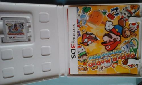 mario juego consola nintendo 3ds