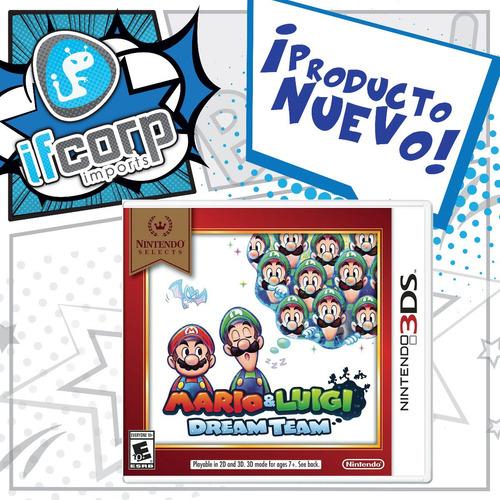 mario & luigi: dream team nintendo 3ds