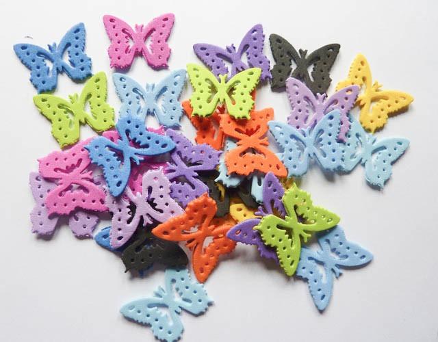 Mariposas formas en goma eva decoracion elija color 5 - Formas goma eva ...