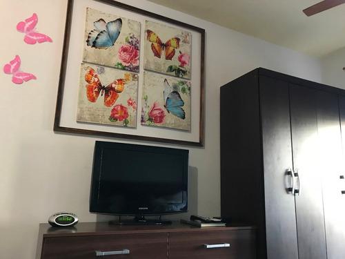 mariposas - monoambiente en malvín a 2 cuadras de la playa