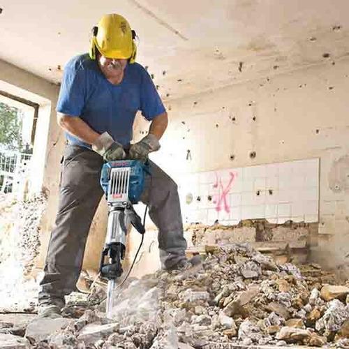 martillo demoledor, herramientas de construcción. alquiler