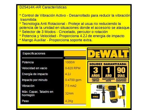 martillo dewalt rotomartillo