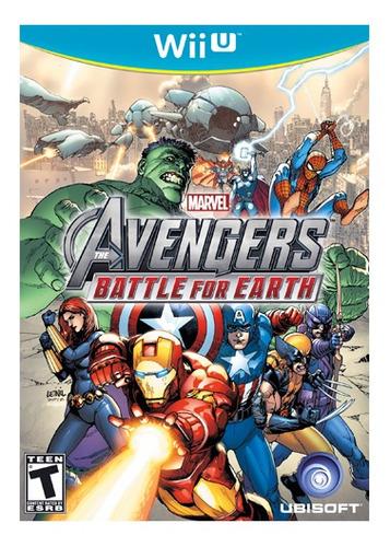 marvel avengers juego nintendo wiiu - tecsys