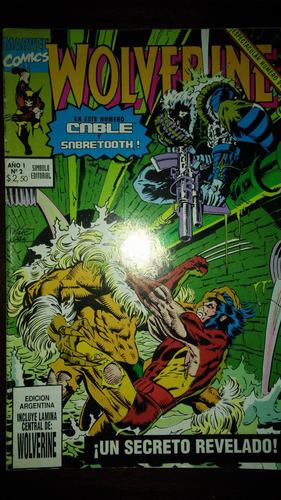 marvel comics wolverine año 1 números 1 al 6 (envíos)