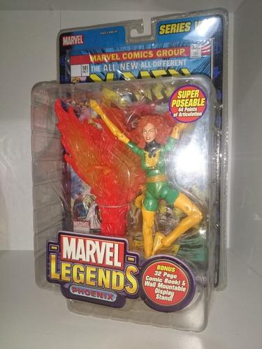 marvel legends series 6 phoenix red x-men toy biz