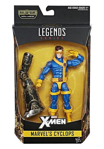 marvel legends series cyclops baf warlock hasbro