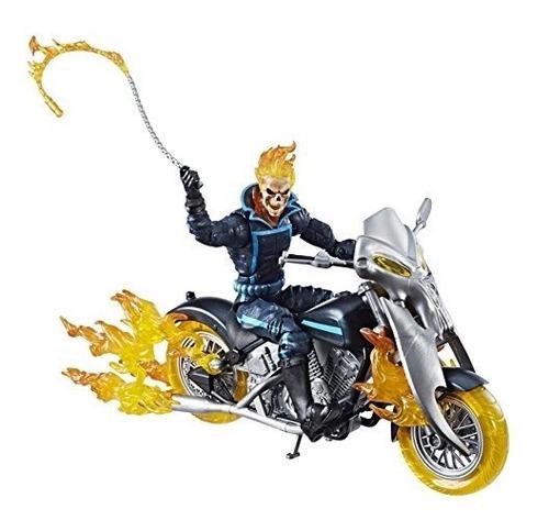 marvel legends series ghost rider de 6 pulgadas con ciclo de