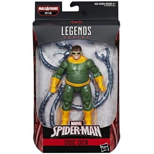 marvel legends series spiderman doc ock baf sp//dr hasbro