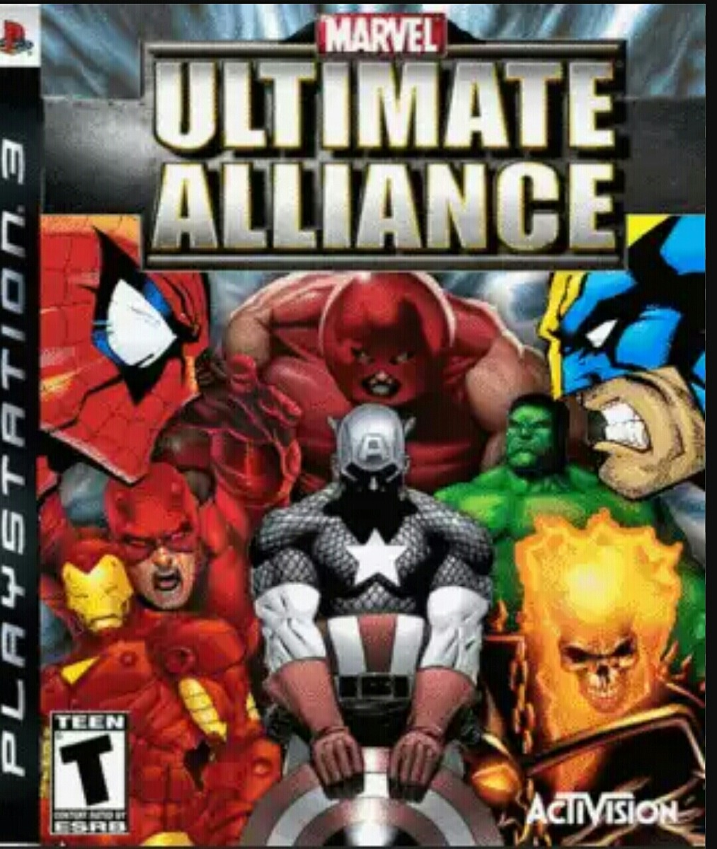 Marvel Ultimate Alliance Juego Ps3 Fisico Para Ninos 12 Cuot