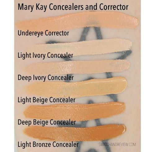 mary kay concealers e iluminadores