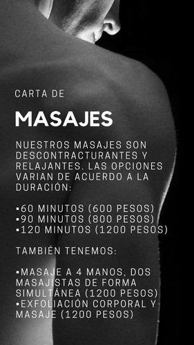 masaje 60 minutos en montevideo