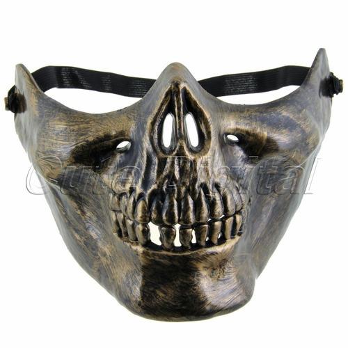 mascara calavera de plastico duro