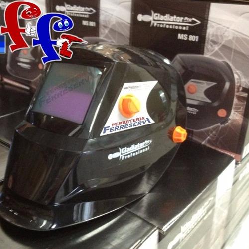 mascara careta soldar fotosensible electronica gladiator pro