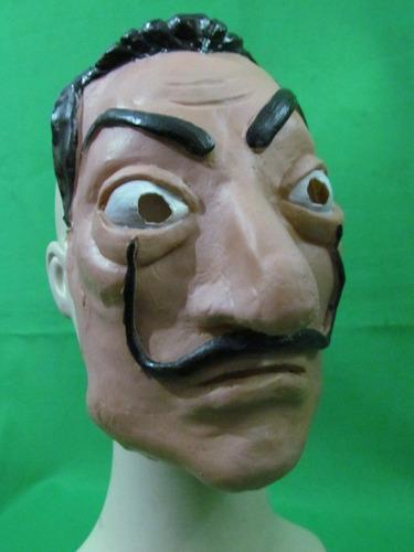 máscara de látex - de la casa de papel dalí