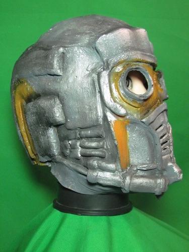 mascara en látex - casco espacial.
