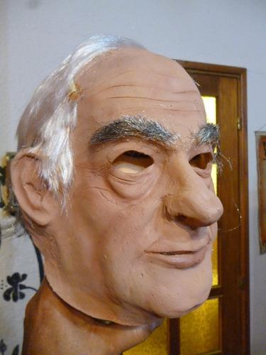 mascara en latex - fernando de la rua