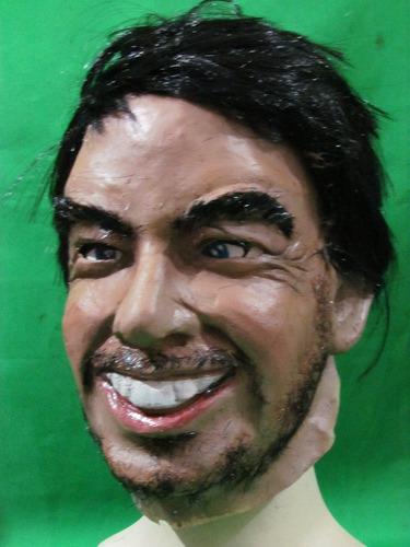 mascara en latex - jugadores de fútbol.