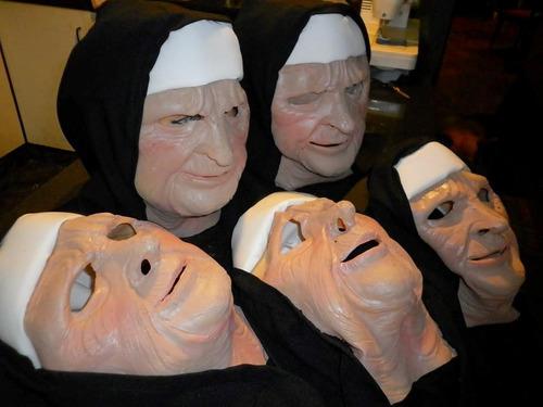 mascara en latex - monja  ( pelicula  the town)