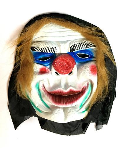 mascara latex payasos halloween -envío gratis a xxx