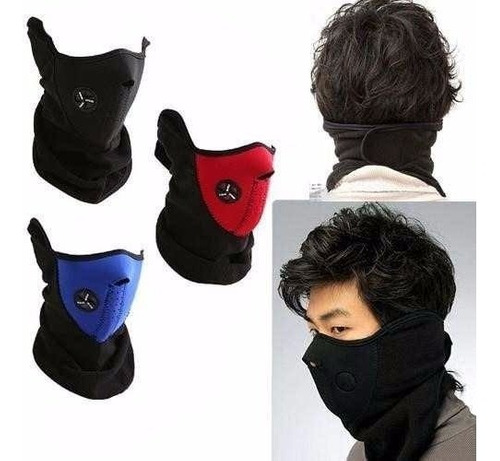 máscara para motos
