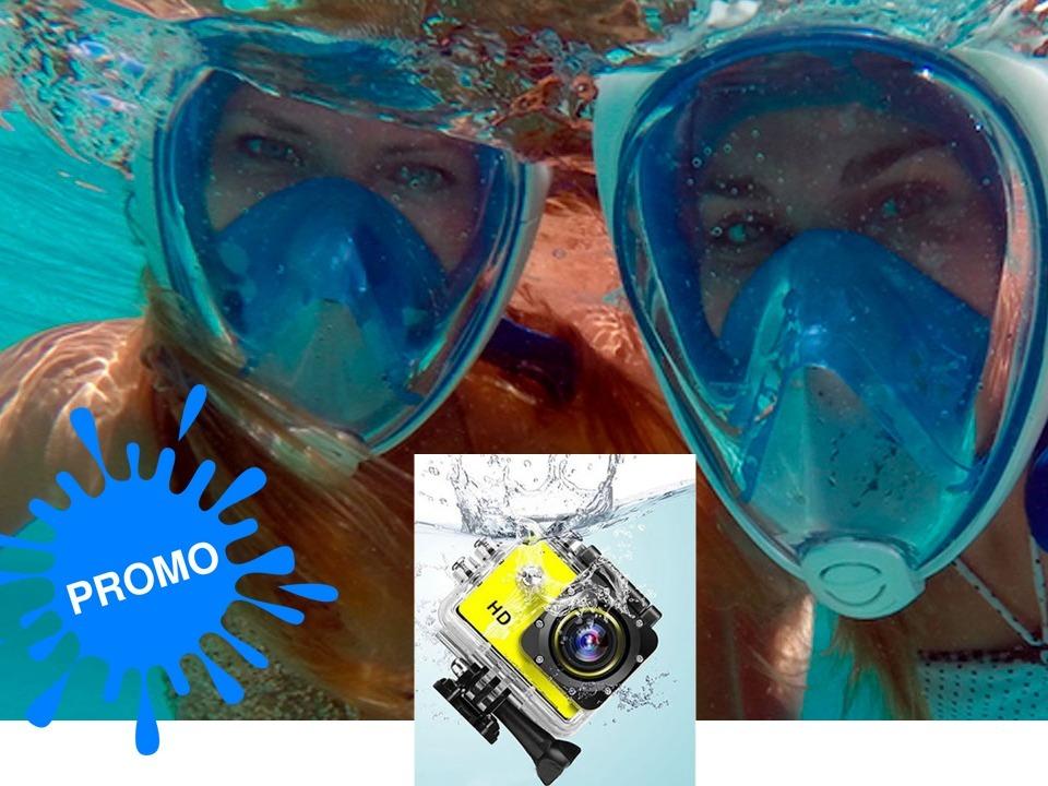 a9a59f099 Máscara Snorkel Buceo Y Cámara De Fotos Para El Agua -   1.990