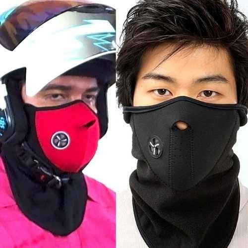 mascara térmica para moto de neopreno y polar