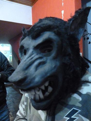 mascaras en látex - lobo feroz