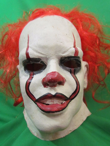 mascaras en latex - payaso it