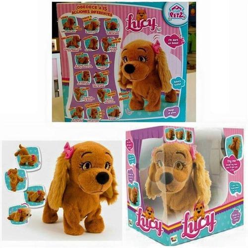 mascota lucy perrita interactiva original tv = envios gratis