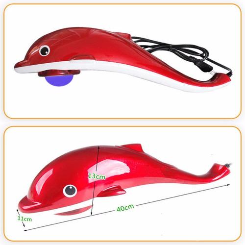 massageador elétrico squalo tubarão golfinho 127v h-life