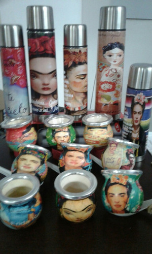 mate frida y personalizamos, amigo invisible!!