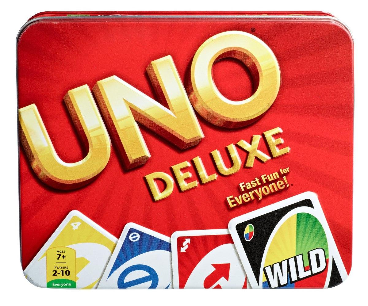 Mattel Juegos Uno Tarjeta Juego Lata U S 43 00 En Mercado Libre