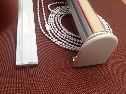 mecanismo y barral cortina roller - sistema completo s/tela