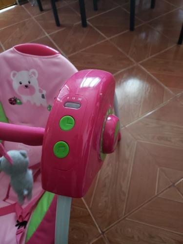 mecedora bebe. silla